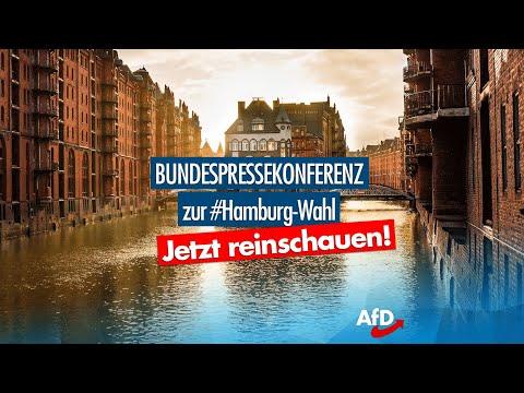 Bundespressekonferenz am 24.02.2020 - Nachlese Bürgerschaftswahl Hamburg