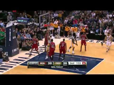 Heat vs Pacers | Game Recap | NBA 2012-13 Season 01/02/2013