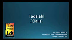 (CC) Come pronunciare tadalafil (Cialis) Backbuilding Farmacologia