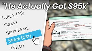 This is what happens when you deposit a fake cheque from a spam email