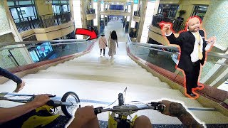 Video DIRT BIKE'S IN HOLLYWOOD MALL! (DOWN THE STAIRS) download MP3, 3GP, MP4, WEBM, AVI, FLV Oktober 2018