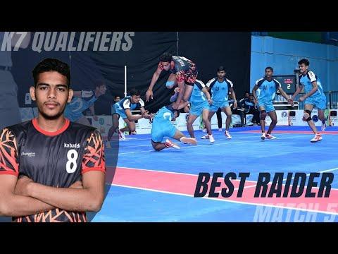 Mohit Goyat scored Super 10 in the match | Best raider | K7 Qualifiers