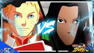 ●NARUTO Ultimate Ninja STORM 4 | Naruto 7th Hokage VS Hashirama (Raw Gameplay) Online Fight【4K】●
