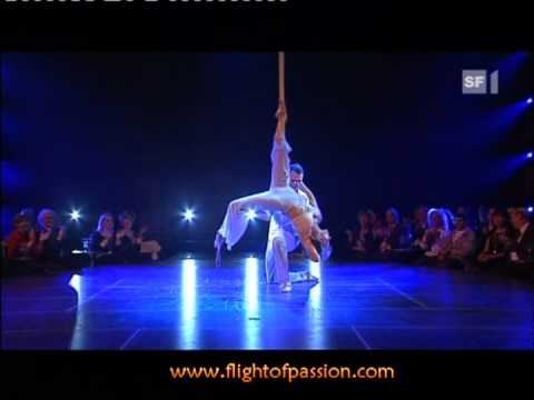 Flight of Passion,Benissimo Tv Show,Zurich 2009