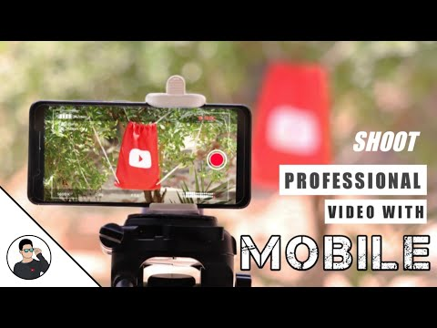 How to shoot professional video with mobile - Like a DSLR - Shoot cinematic video - TechAbuzar - 동영상