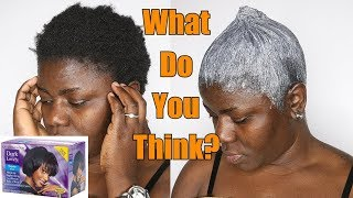Relaxing My Natural (4C) Hair: Dark & Lovely Relaxer | Dilias Empire.