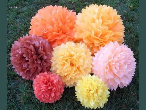 tissue paper craft ideas tissue paper pom poms craft ideas amp collection 5587
