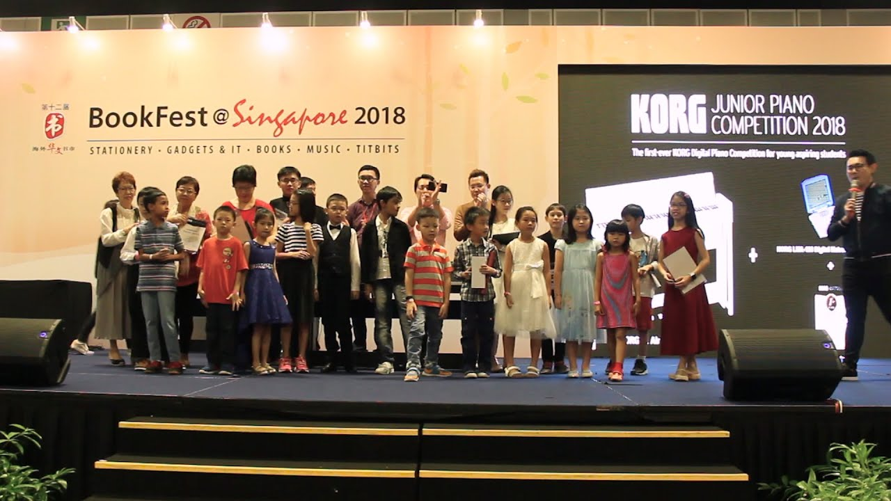 KORG Junior Piano Competition Singapore - Grand Finals Highlights 2018