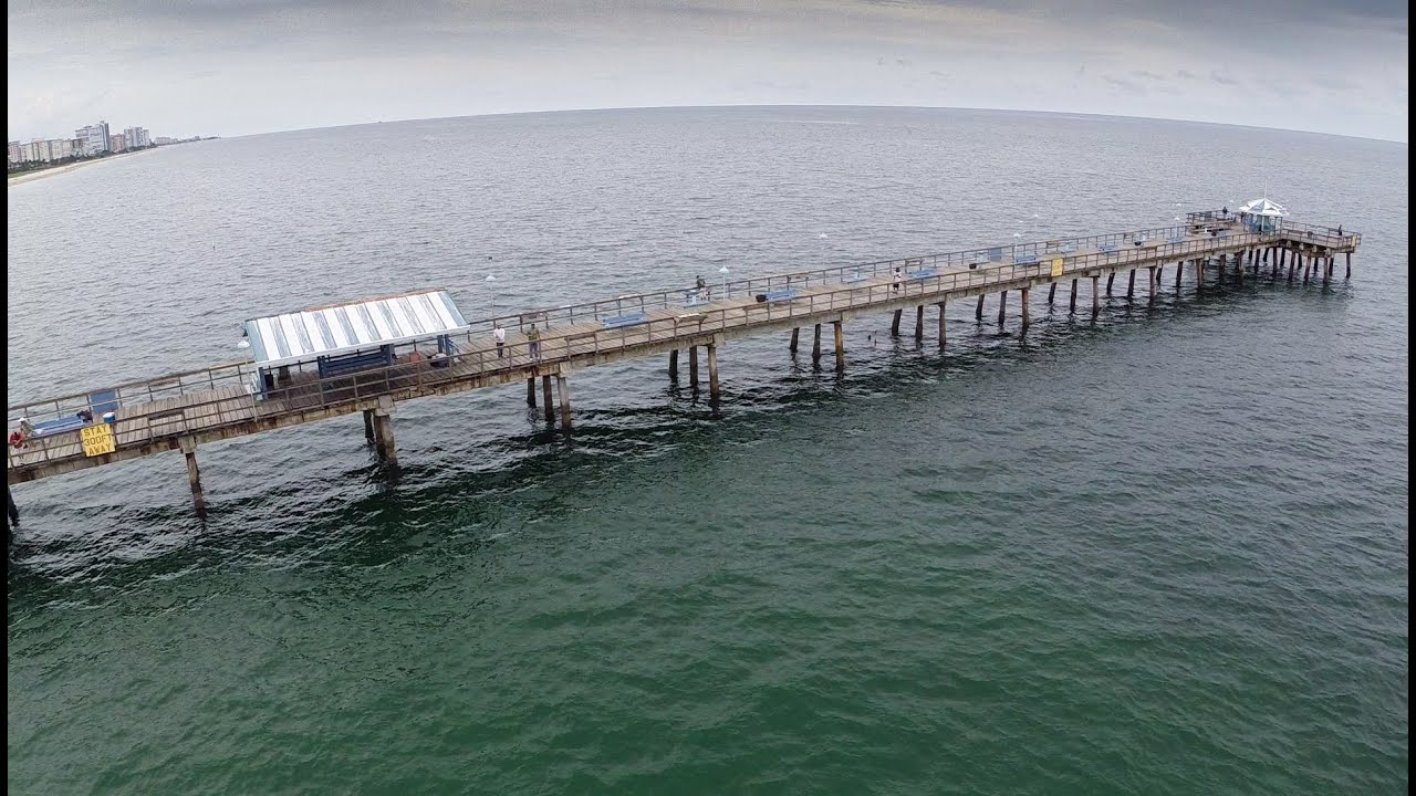 Anglin 39 s fishing pier lauderdale by the sea fl youtube for Fishing piers in florida
