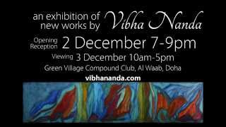 Vibha Nanda Art 2015 Exhibition in Doha