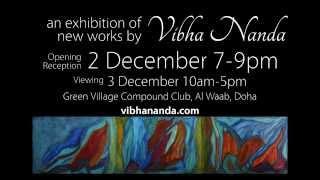 Vibha Nanda Art 2015 Exhibition in Doha