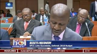 EFCC Lists Successes, Defends 2018 Budget