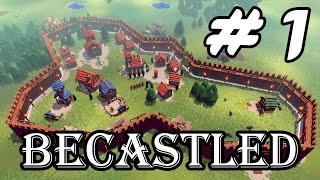 Becastled - Construye y defiende tu castillo ⚔️ - Gameplay Español