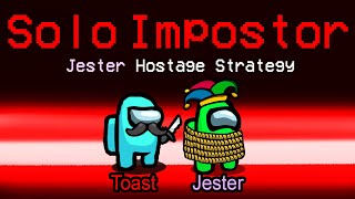 the 18,500 IQ JESTER HOSTAGE strat as SOLO impostor... (custom mod)