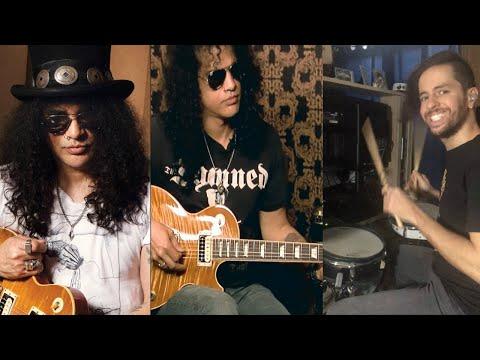 "Quarantine Mock ""Virtual Jam"" With Guns N' Roses Legend Slash"