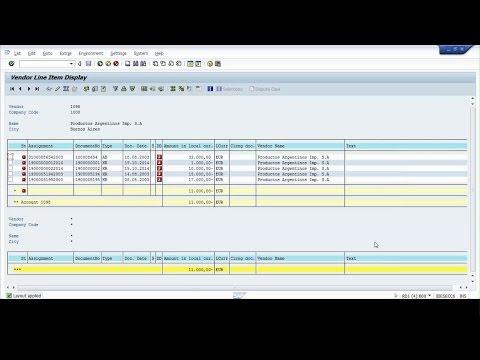 SAP ABAP : Adding Fields to Transaction FBL1N , FBL3N