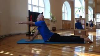 Лечебная гимнастика для спины .