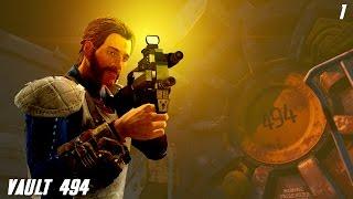 Fallout 4 Quest Mods: Vault 494 - Part 1