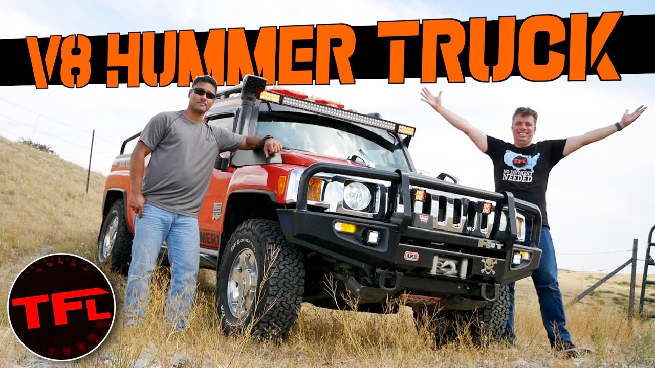 V8 Midsize Truck - I Drive a Unicorn Hummer H3T Alpha Truck! Dude, I Love (Or Hate) My Ride!