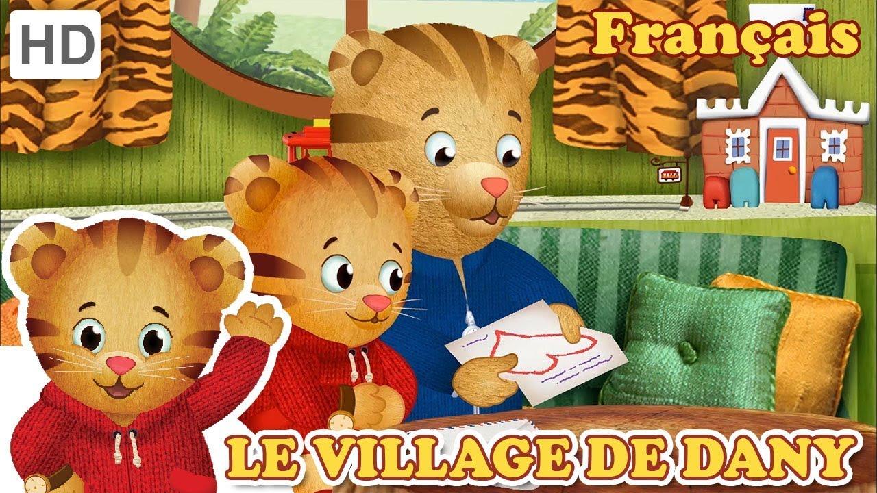Series Netflix Youtube Dessin animés pour apprendre le français aux enfants FLE précoce Danny