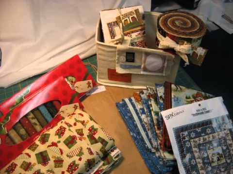 christmas fabrics on sale