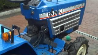 ISEKI  TU 1400. Mały traktor-ciągnik ogrodniczy. www.akant-ogrody.pl