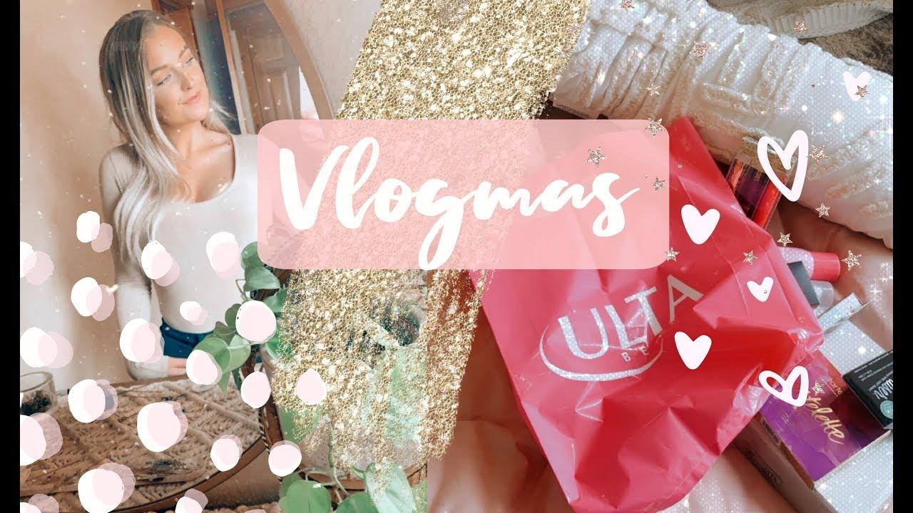 Download VLOGMAS DAY 9| A GOOD OLD FASHION ULTA HAUL + VLOG // MarissaLace