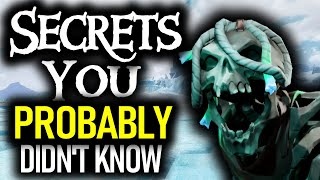 THINGS MOST PIRATE DO NOT KNOW // SEA OF THIEVES - Hints and Secrets on the Seas!