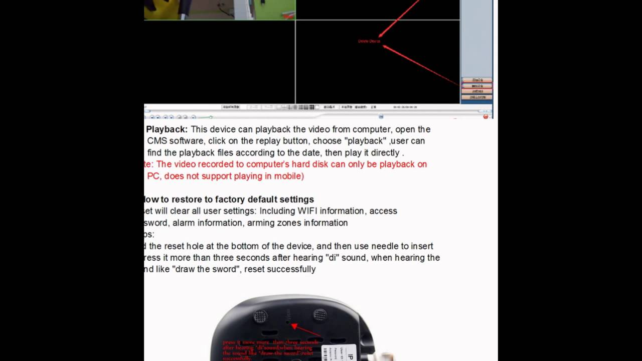 V380 WIFI camera: how to see video on Windows PC