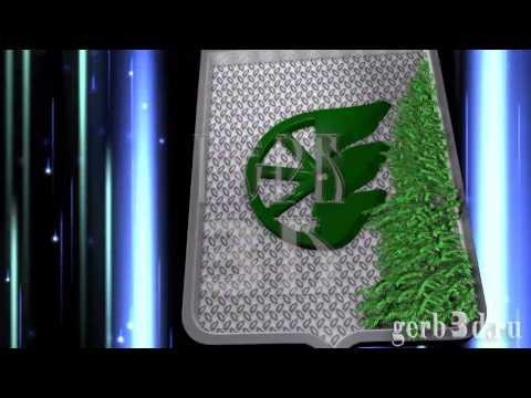 герб городского округа Шахунья в 3D