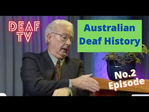Australian Deaf History No.2 - Founding a first school in Melbourne