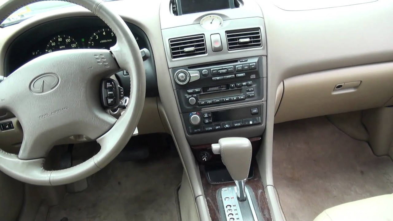 2001 Infiniti I30T Touring Sedan - YouTube