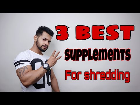 3 BEST SUPPLEMENTS FOR CUTTING | 3 BEST SUPPLEMENTS FOR SIX PACK ABS | HINDI