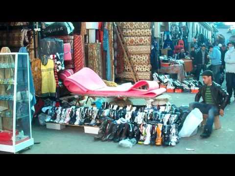 Market (Souk) in Casablanca Morocco - Qri3a (Derb Sultan)