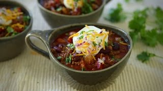 Ground Beef Recipes - How to Make Quick Chili