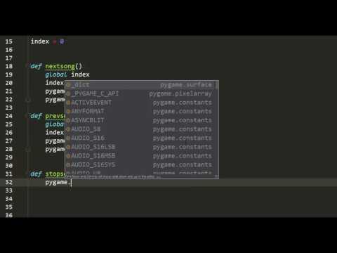 Music Player in Python - Part 3
