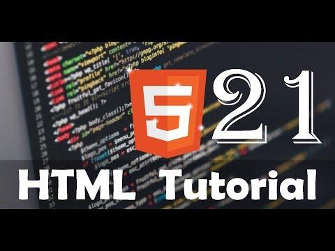 HTML Tutorial 21 - Select Option Control thumbnail