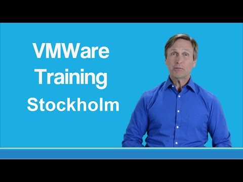 VMware training Stockholm