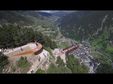Mirador Roc del Quer Parroquia d Canillo Principat d 'Andorra  año 2016