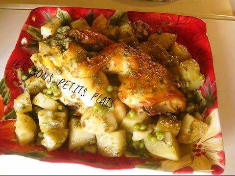 poulet-rôti-en-sauce