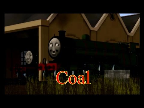 Rails of the North Western Railway - Henry the Green Engine - Coal