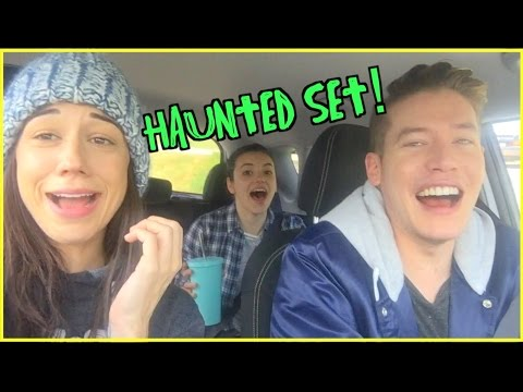 OUR SET IS HAUNTED! // Haters Back Off Behind The Scenes!