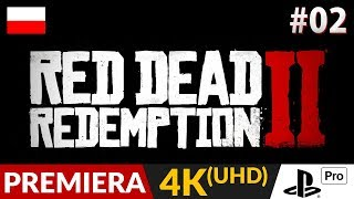 RED DEAD REDEMPTION 2 PL  #2 (odc.2)  Polowanie na jelenia   RDR2 4K - Gameplay po polsku