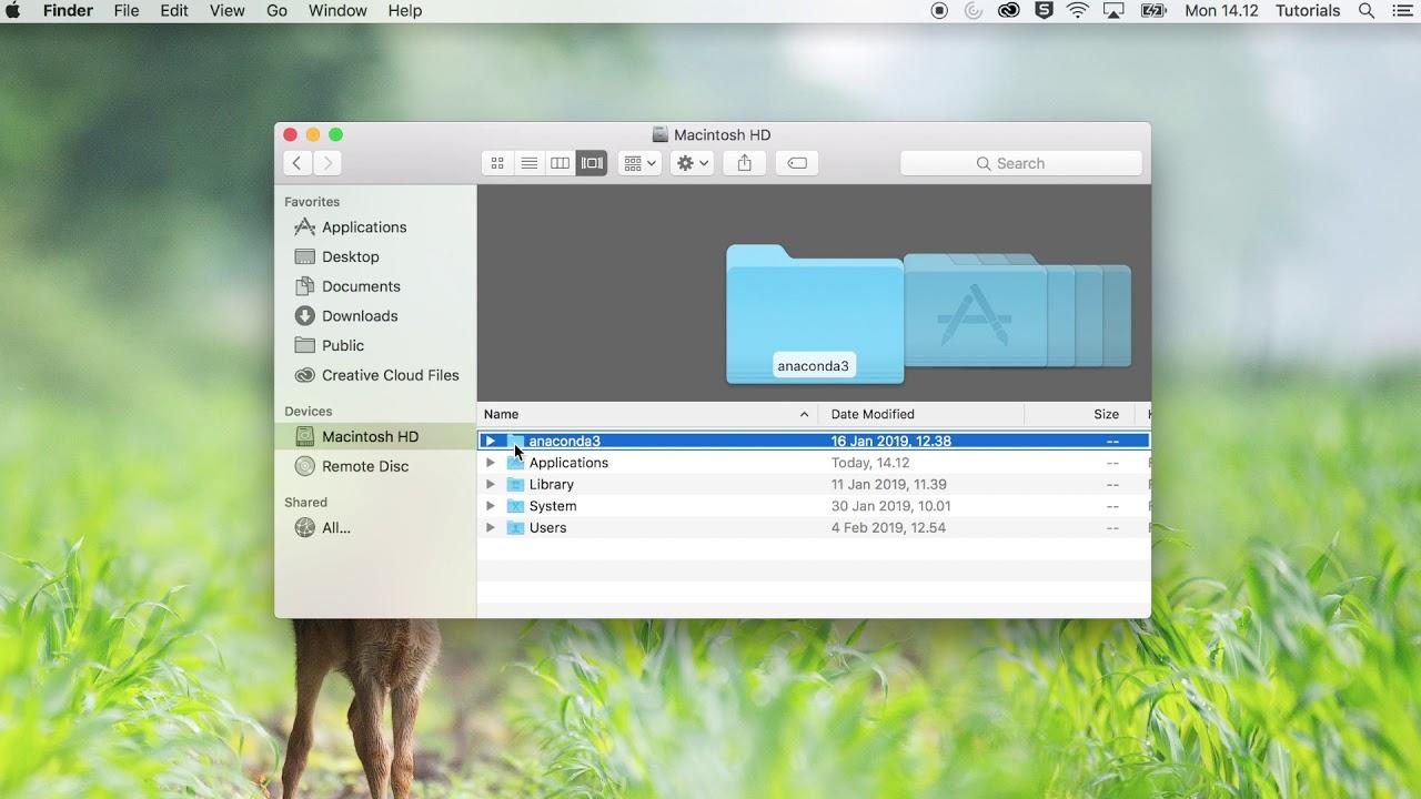 How to Uninstall Anaconda (Mac)