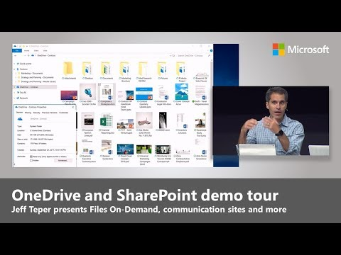 OneDrive and SharePoint updates powering collaboration in Office 365 with CVP Jeff Teper
