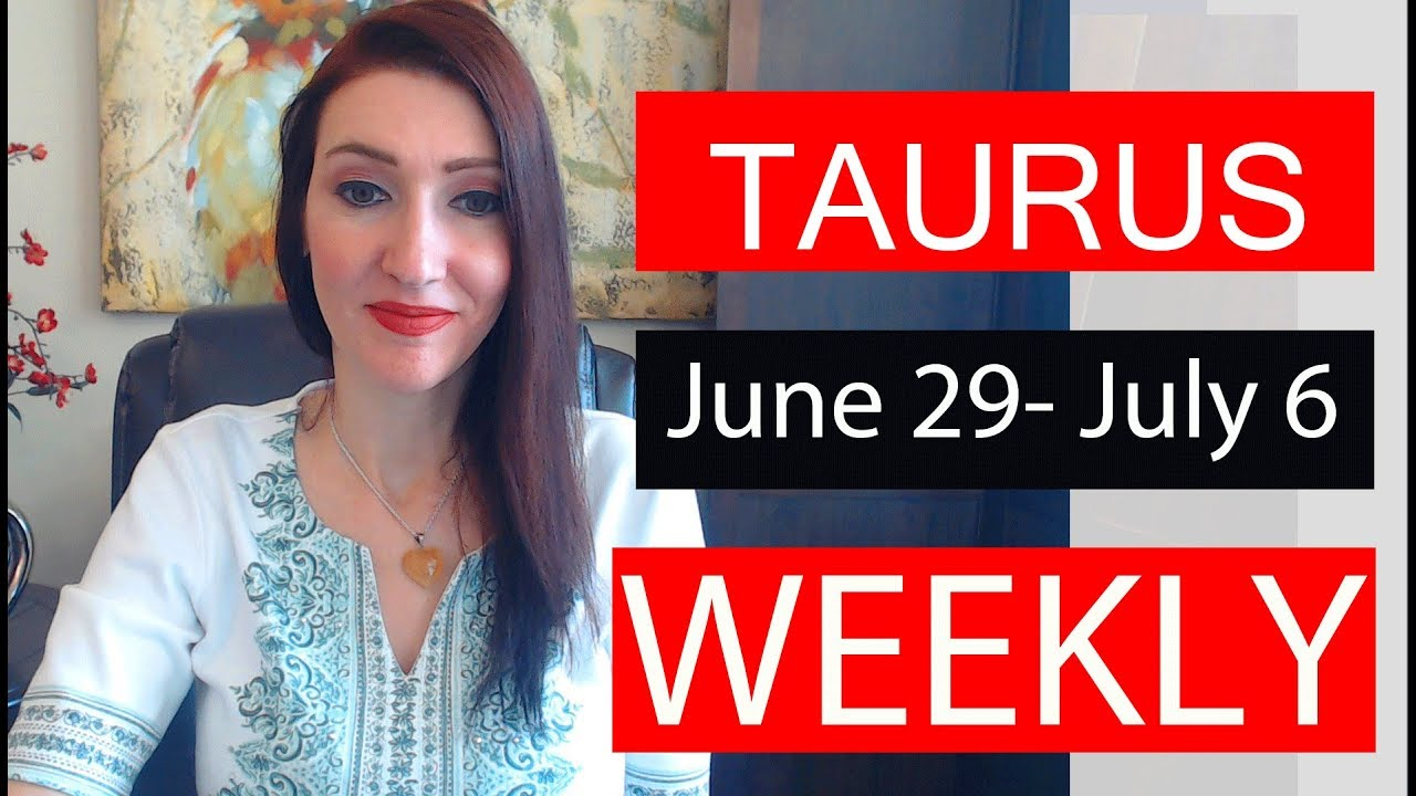 Taurus Love Horoscope Weekly