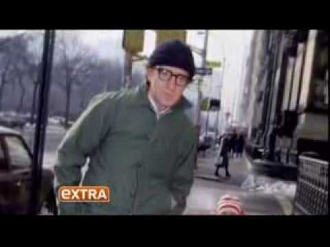 Stacey Nelkiin talking about Woody Allen on Extra
