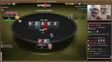 "PokerStars Spin & Go Player ""SolidPenis"" Wins €250,000! (Full Version)"
