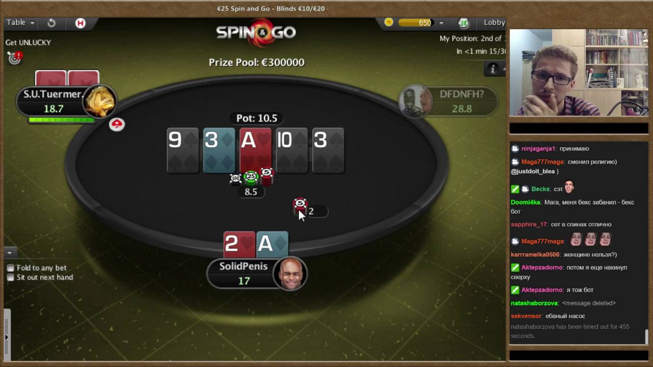 Spin And Go Pokerstars