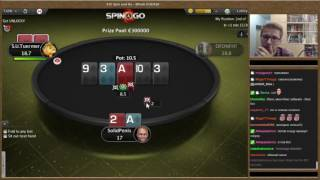 PokerStars Spin & Go Player
